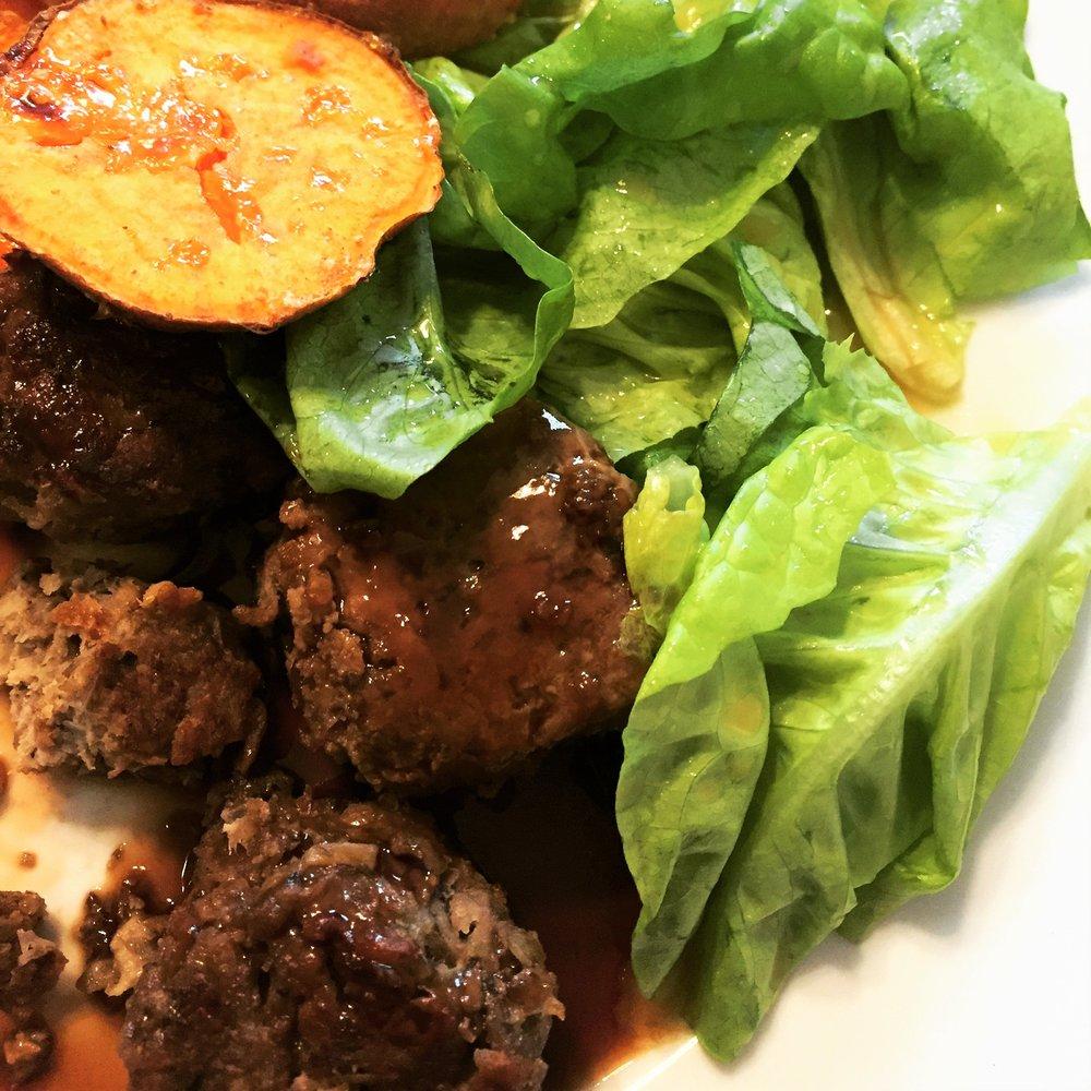 Swedish Lentil Meatballs
