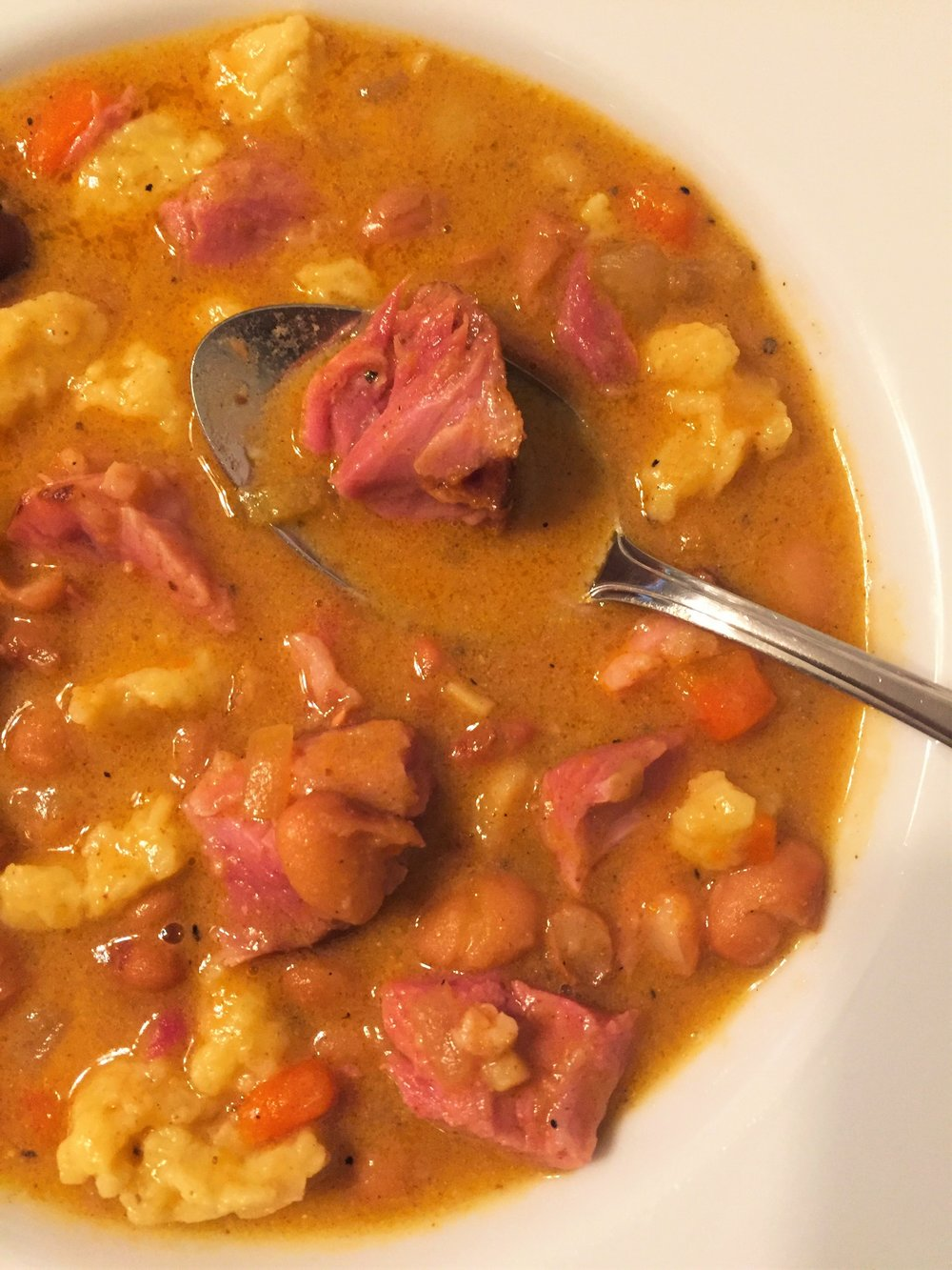 Ham and Bean Soup (Bableves)