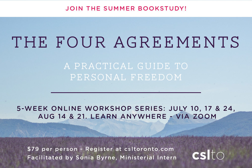 The Four Agreements Online Book Study Workshop Centre For