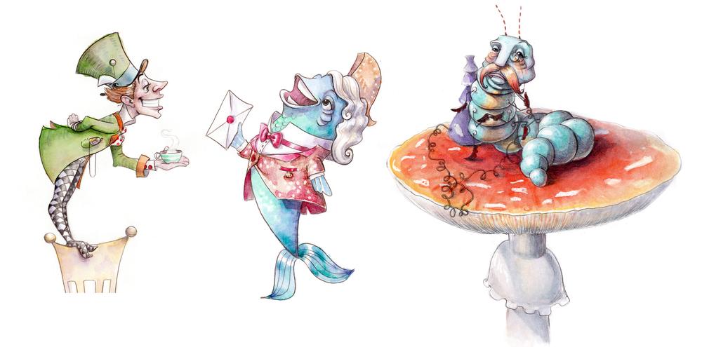 AbiReid-Alice Characters