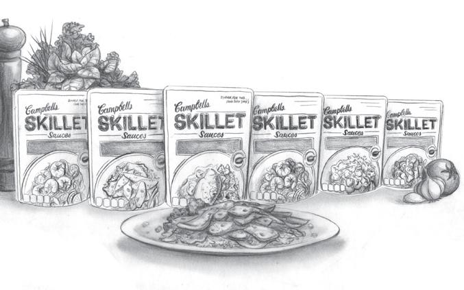 AbiReid_Campbells Skillet Sauces-Product Shot