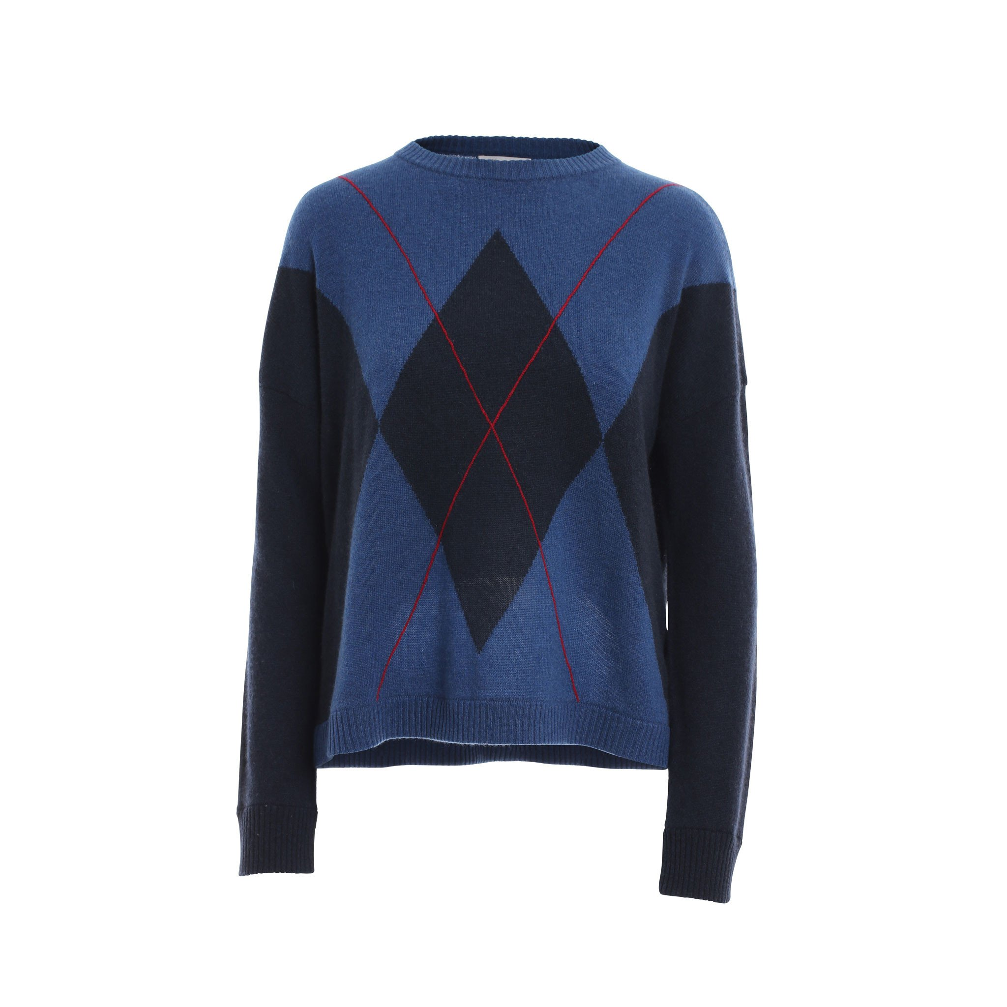 Cashmere Argyle Sweater — Nick Hilton Princeton