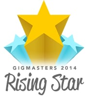 GigMasters - Rising Star Award - 2014