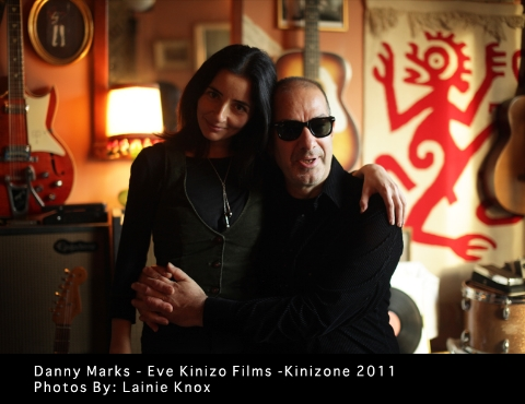 Danny Marks and Eve Kinizo