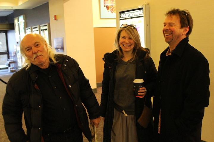 Richard Flohil with Rob Quail & Partner