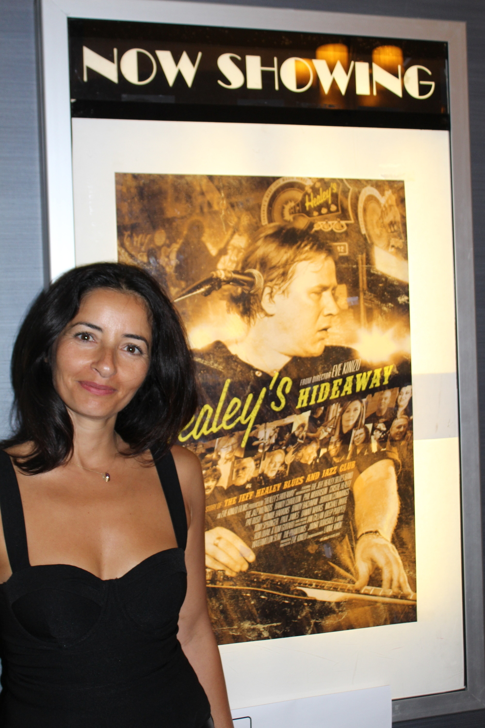 Eve Kinizo @ the Healey's Hideaway screening