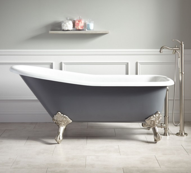 The Journey Of Our Clawfoot Tub