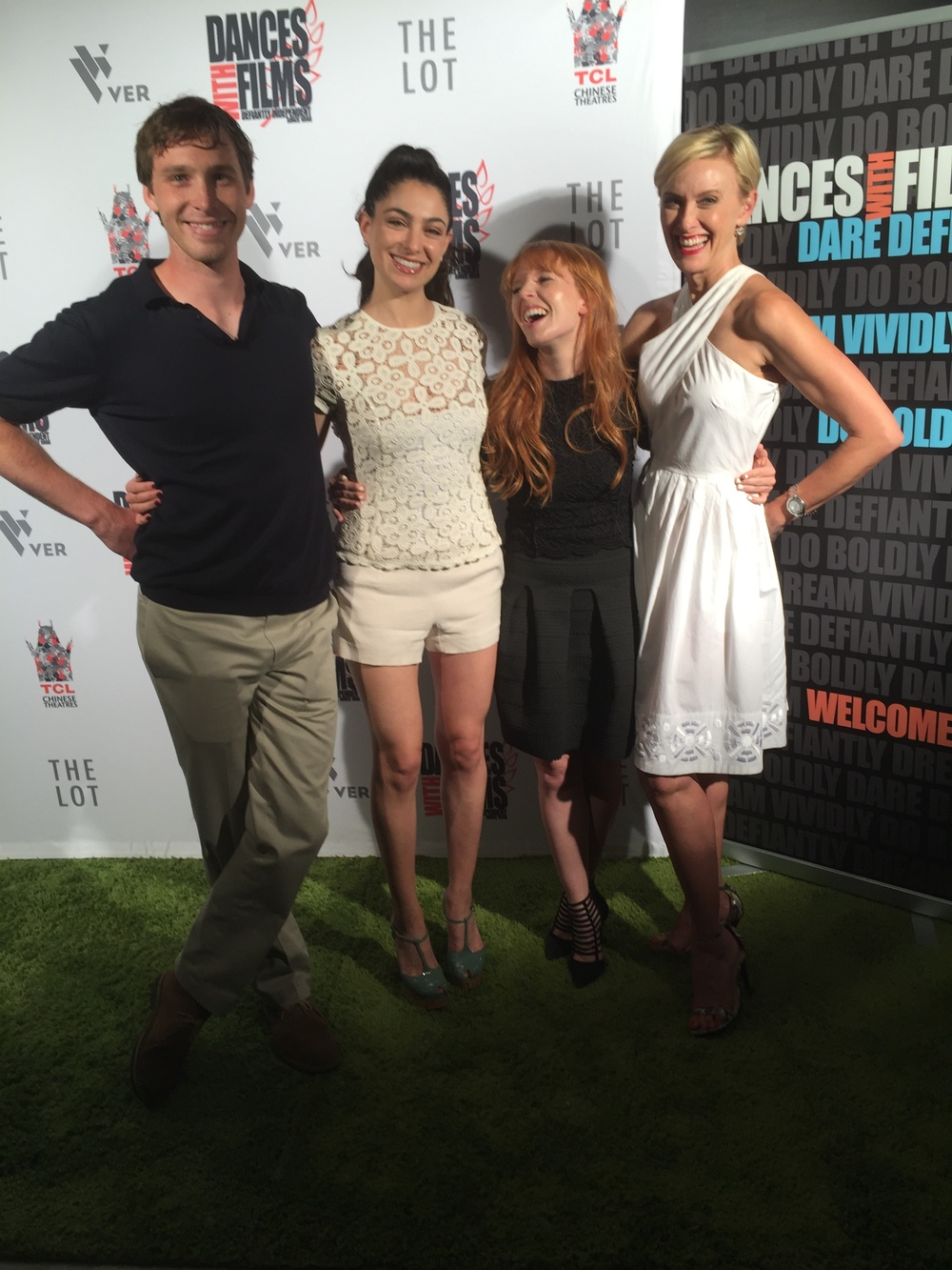 James Kelly, Giuliana Carullo, Stef Dawson and Rachel De Benedet
