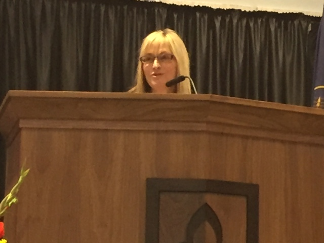 Dr. Laura Nelson at the Uintah Basin Energy Summit