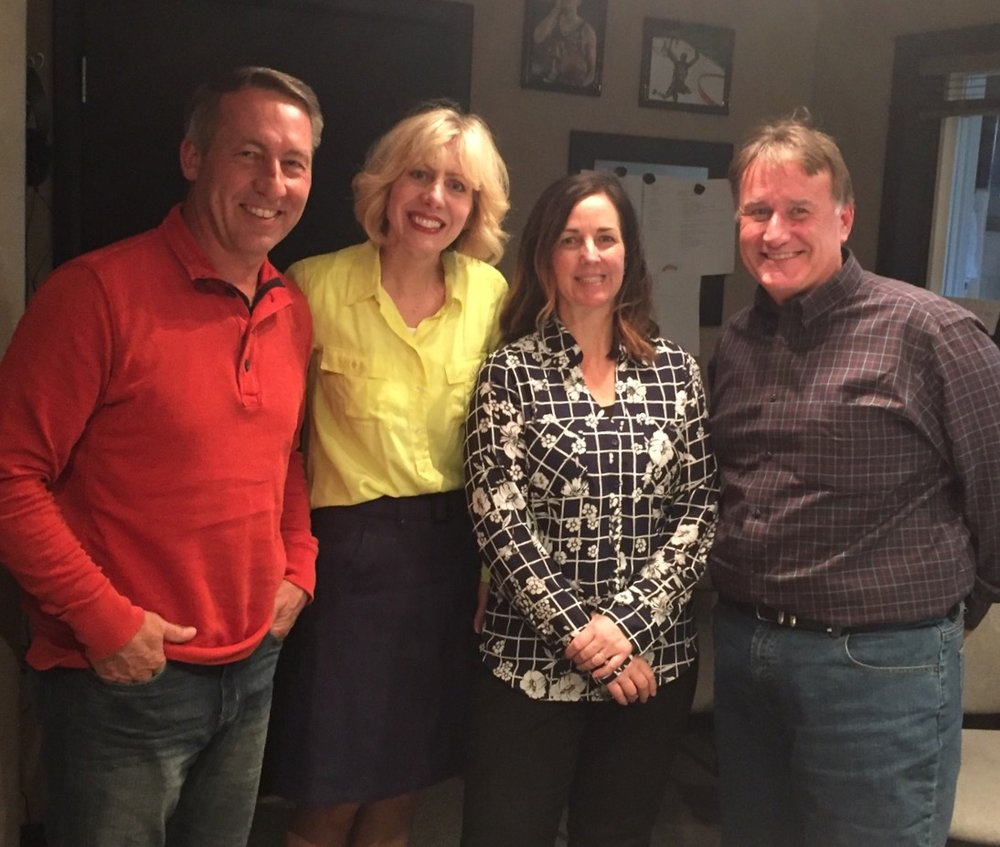 Marriage and the family program on kvel- Bob and Ann Peterson, Sheree Meyer, Steve Evans