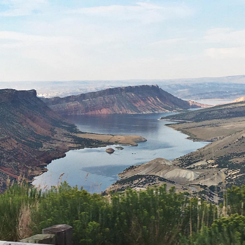Good fishing on flaming gorge little hole trail for Flaming gorge fishing