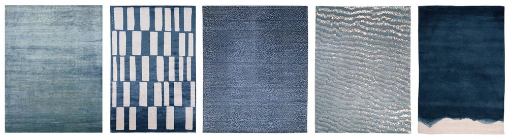 Solid Silk                          Coco Drum                     Dots                                 Fishskin Blue                      Dip Dyed Indigo