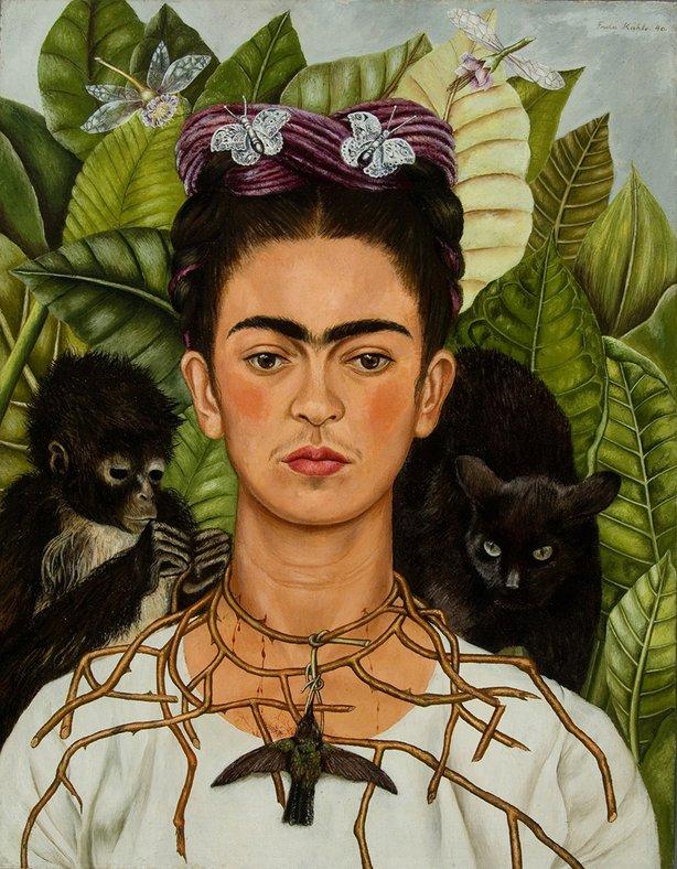 Frida Kahlo,Self Portrait1940