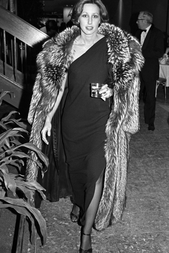 Donna Karan in the early 70's