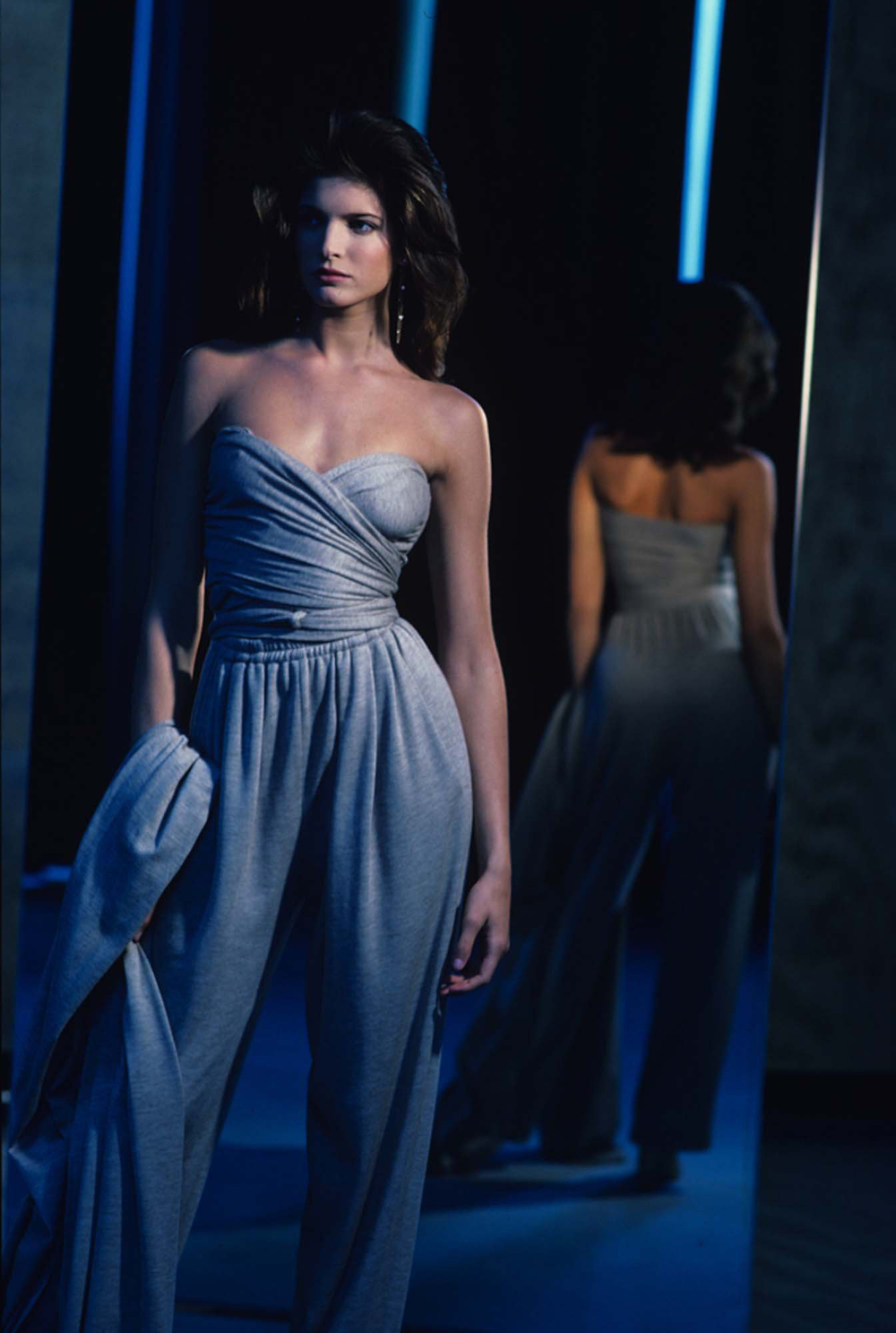 Stephanie Seymour for Donna Karan