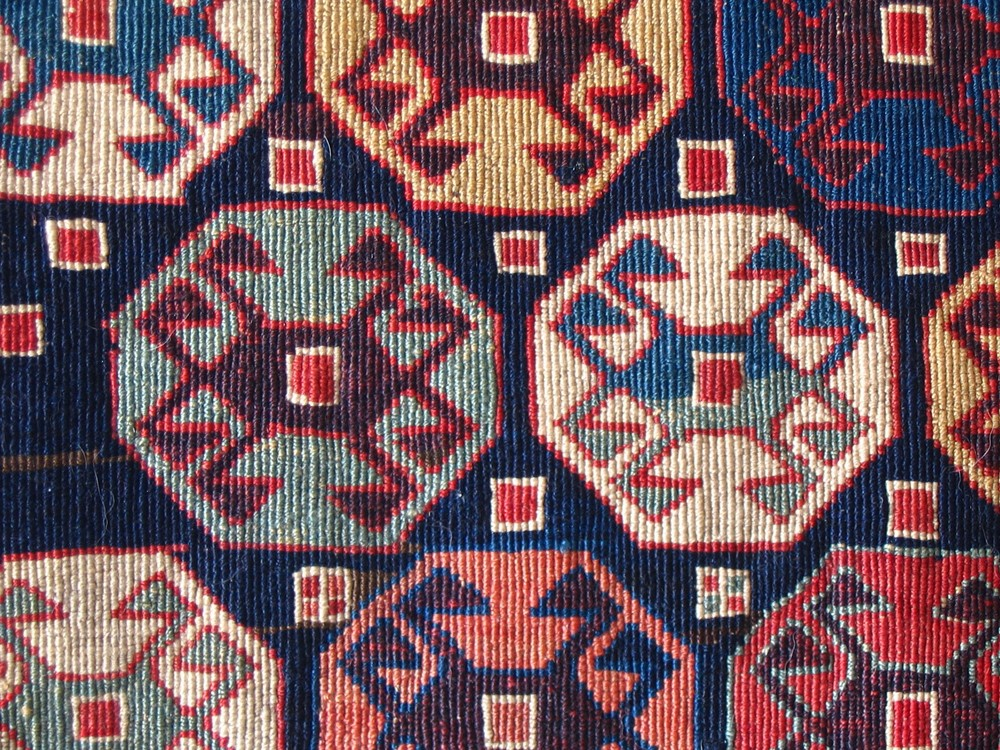 Reverse Soumak weave