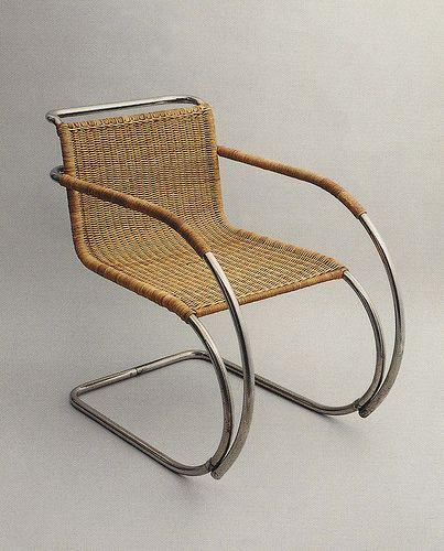 Mies van der Rohe, MR Chair, 1927