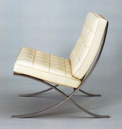 Mies van der Rohe,  Barcelona Chair , 1929