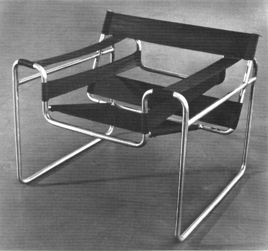 Marcel Breuer,  Wassily Chair , 1925