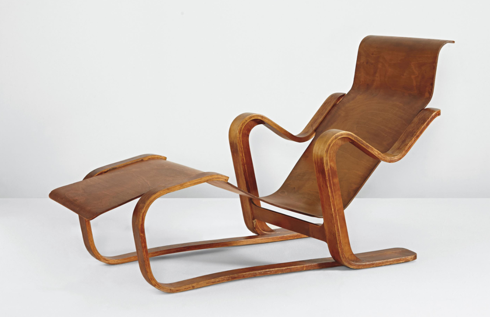 Marcel Breuer, Plywood Chair, 1935