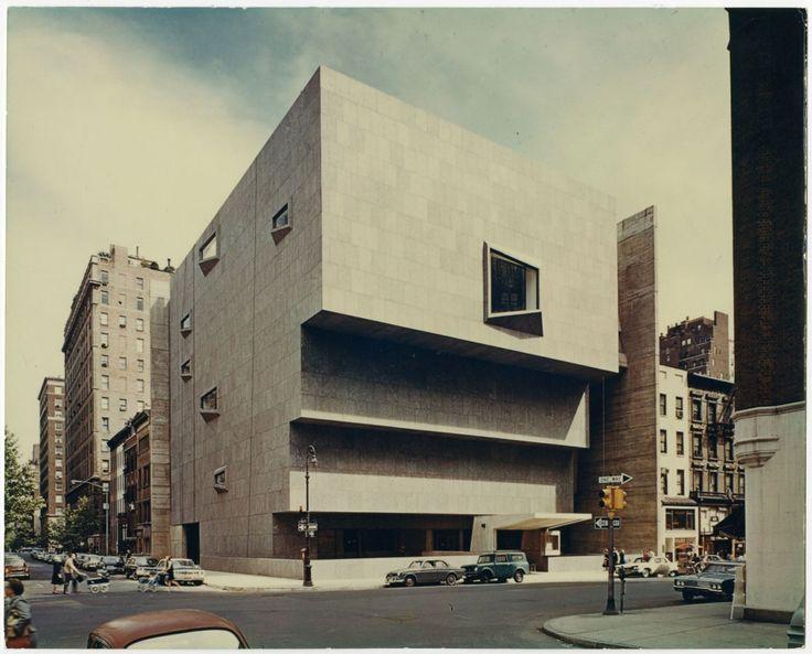 Whitney Museum, Marcel Breuer