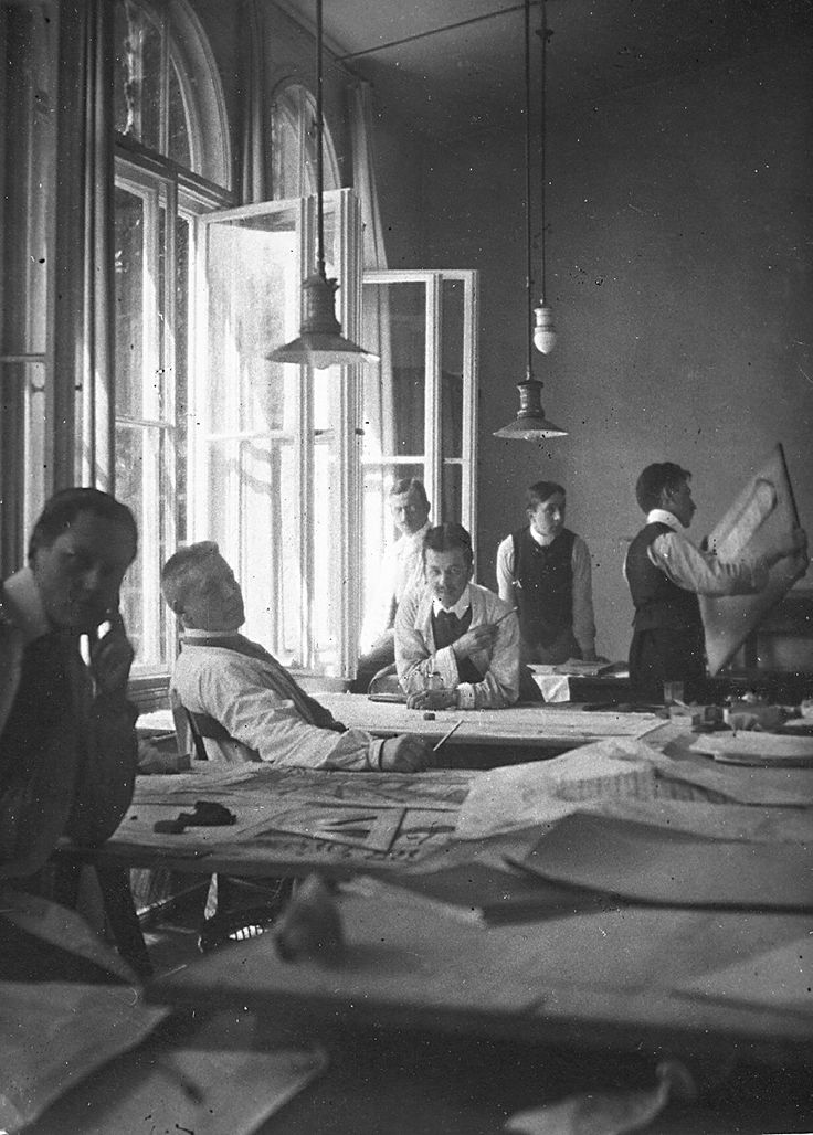 The Bauhaus staff, 1919