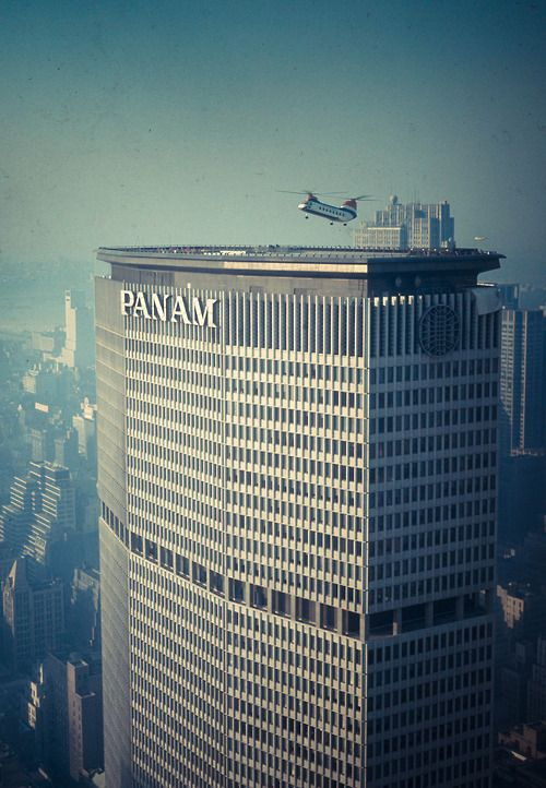 The PanAm building, Walter Gropius