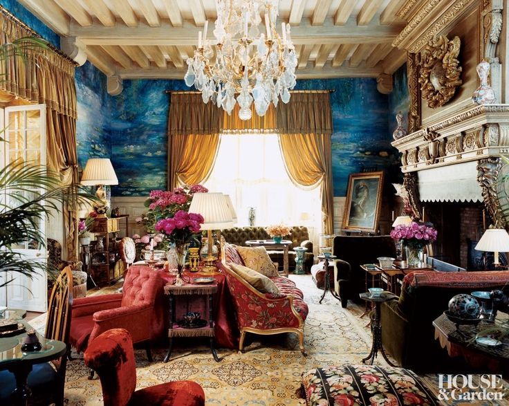 The interior of Chateau Gabriel