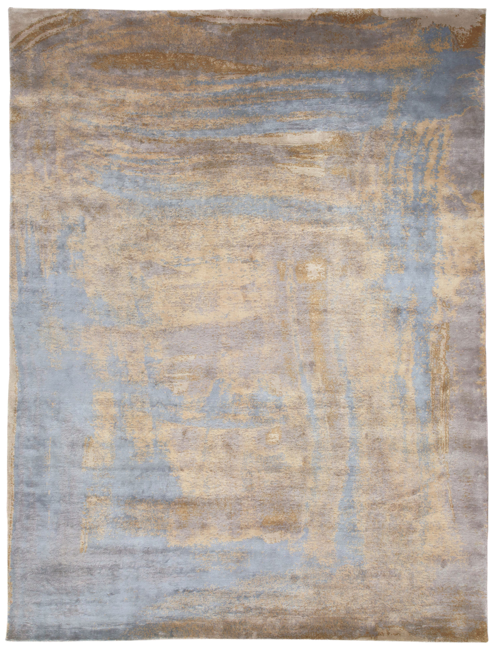 Brushstroke Blue, 9x12