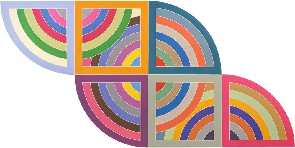 Frank Stella,Harran II 1967