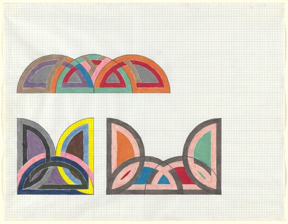 Frank Stella, Untitled 1965