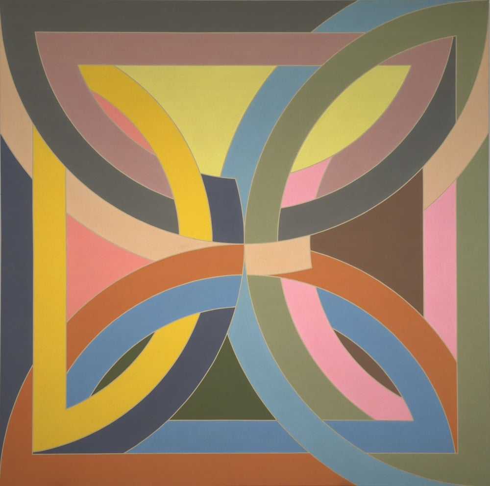 Frank Stella,Abra Variation I 1969