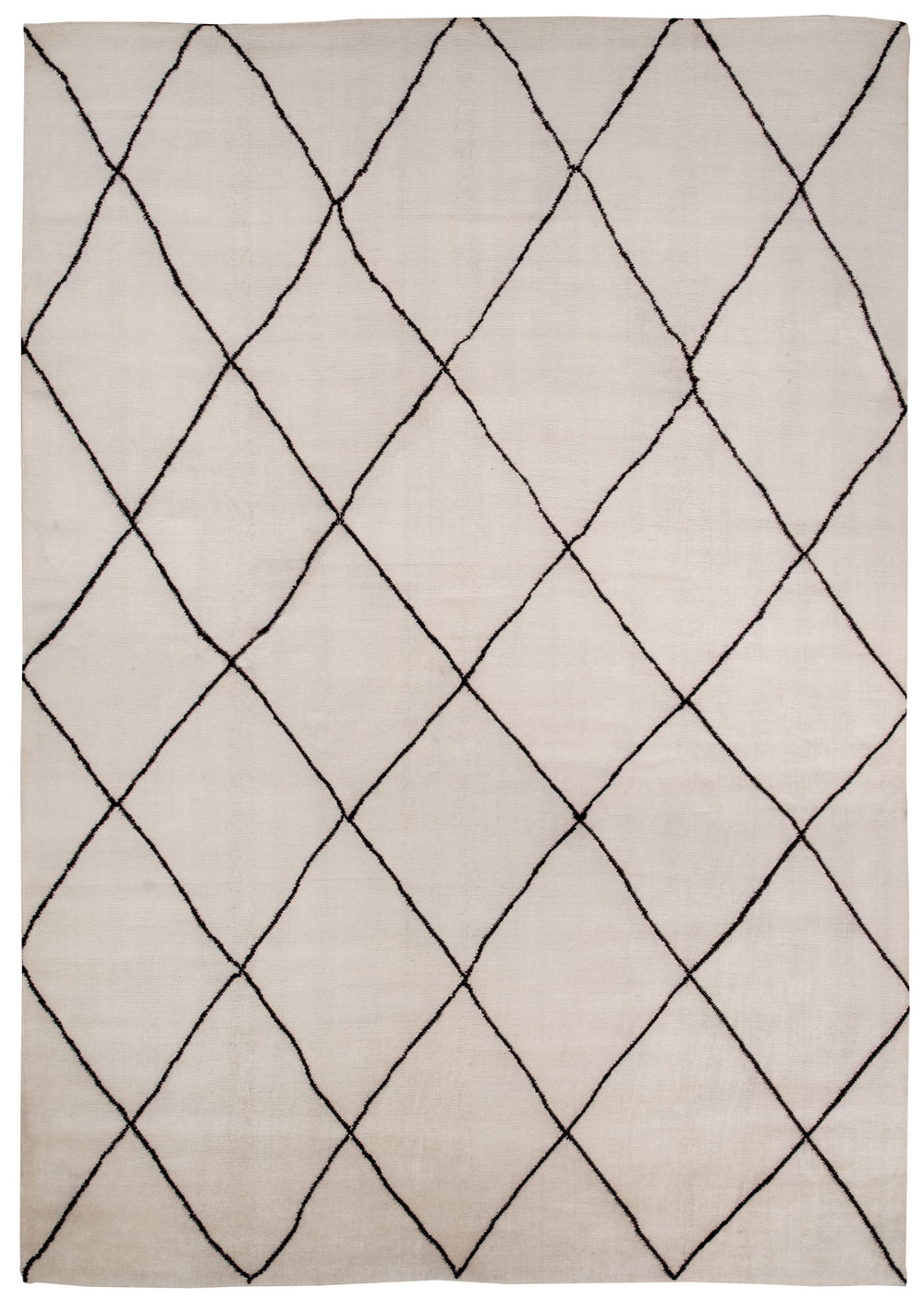 Diagonals, 12' x 16' 100% Mohair