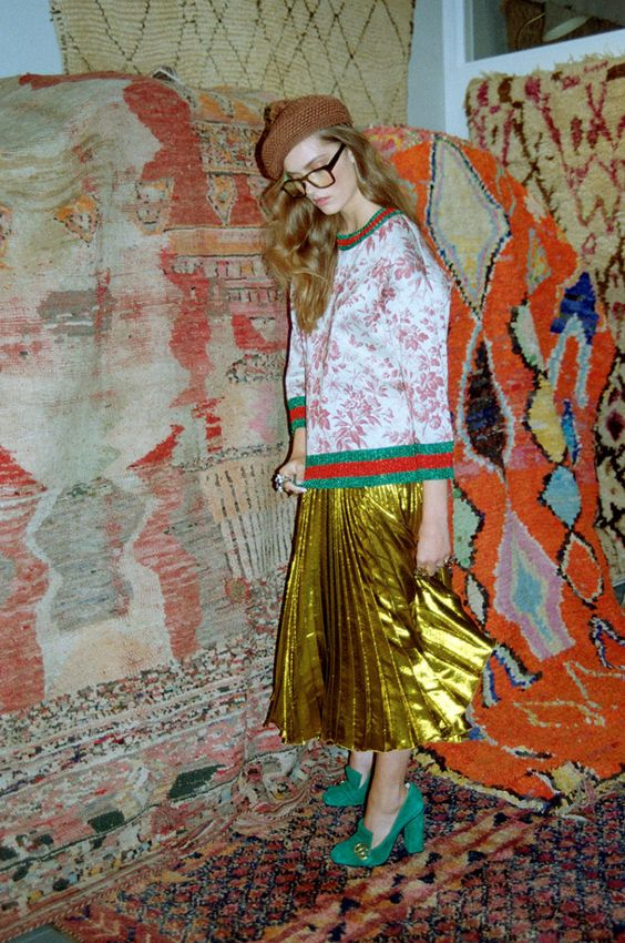 Gucci's 2016 Resort Collection #SkirtingTheCarpet
