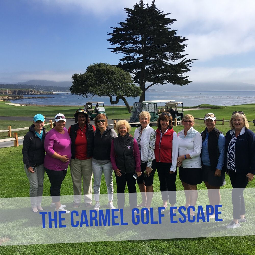 Participants at the Carmel Golf Escape September 27-29th 2016.
