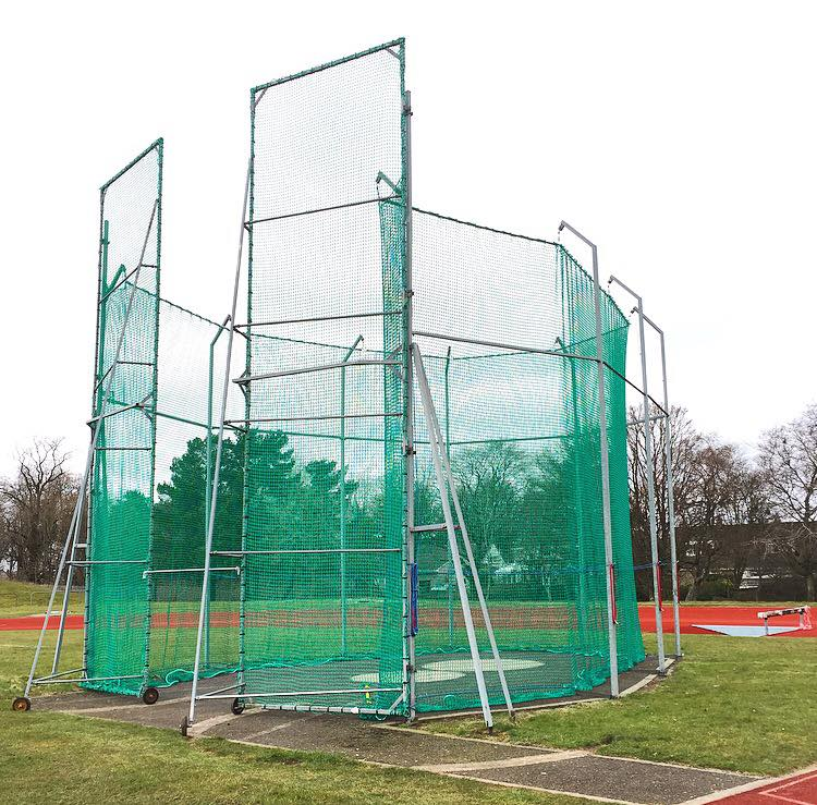 Classic hammer cage by R J Hill seen on many sites in the UK