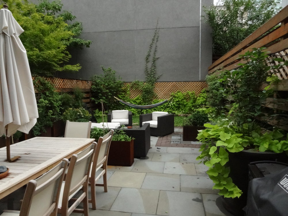 Boerum Hill Backyard - After