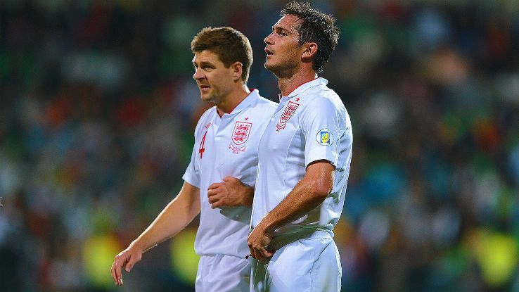 Photo Credit: The Telegraph  Steven Gerrard and Frank Lampard