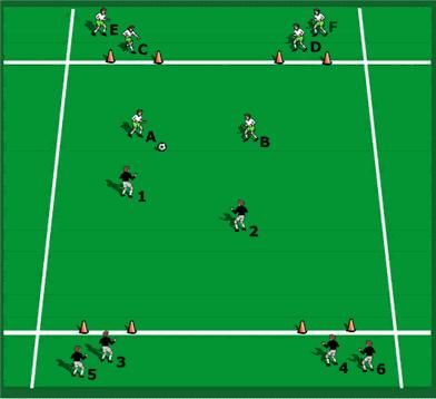 transition 2v2 target game image 1