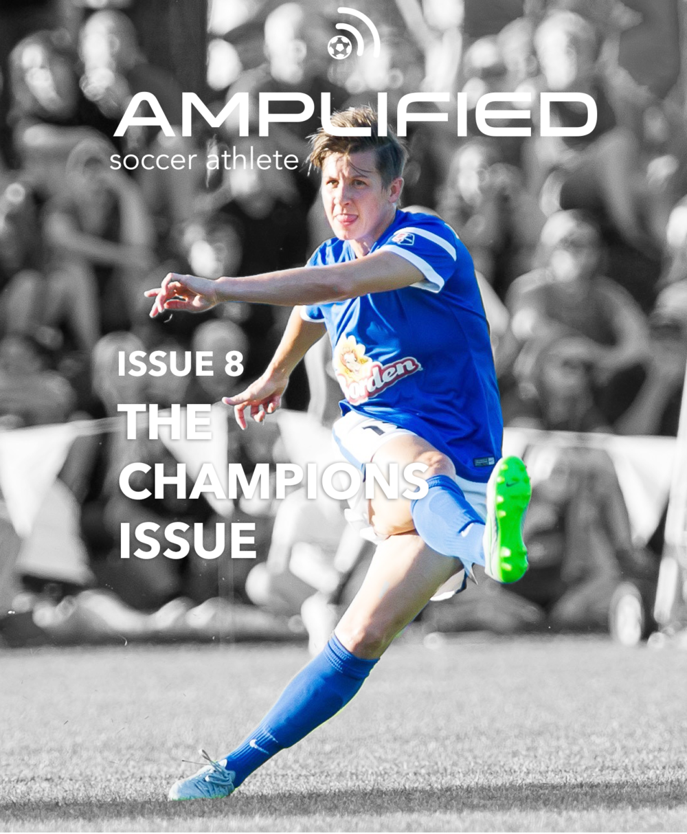 amplified soccer athlete issue 8 cover