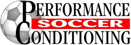 performance conditioning soccer logo