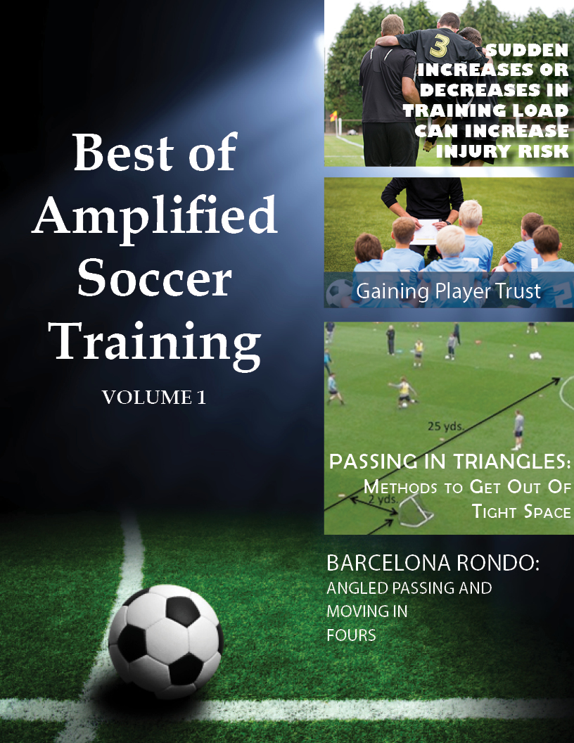 best of amplified soccer training cover