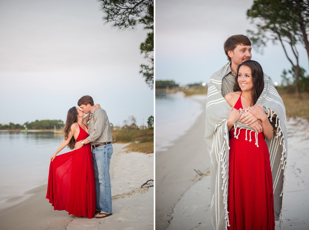 dauphin island alabama engagement photos
