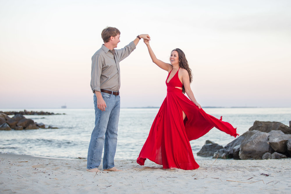 Engagement | Dauphin Island, AL