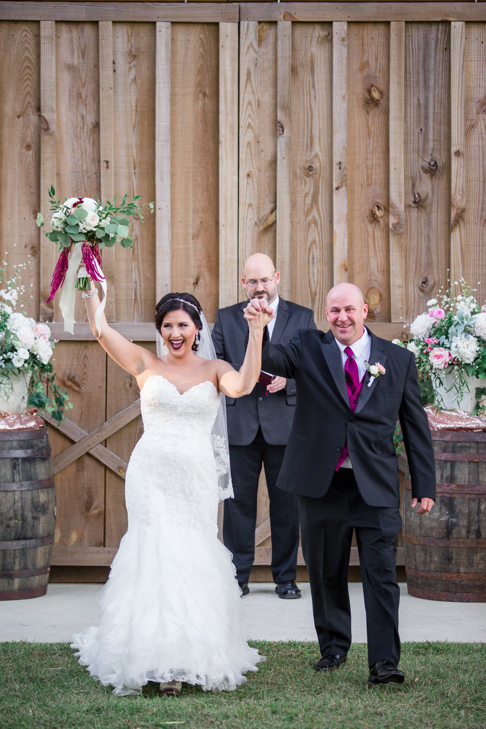 check out the blog: - Courtney + Clint's wedding