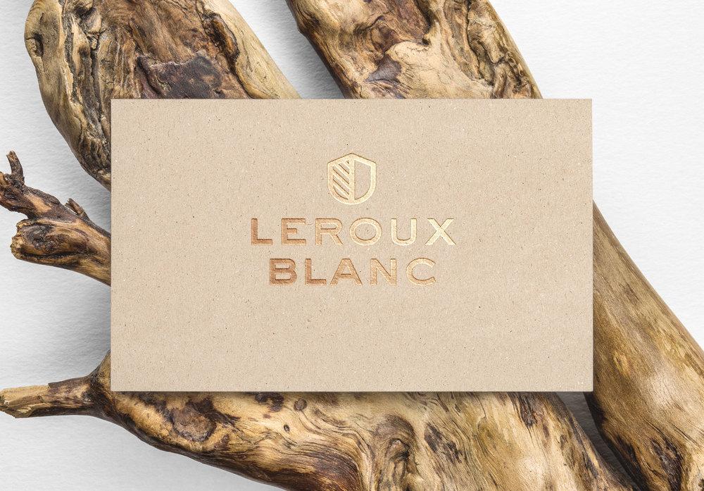 KW02  |Wir bandeln mit der Westschweiz an:Corporate Design für das Uhrenlabel Leroux Blanc
