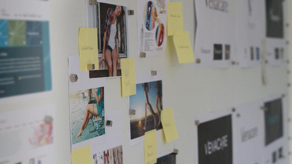 KW48  | Endspurt beim Design der Brand Identity für Venacare – einer Privatpraxis zur Behandlung von Venenkrankheiten