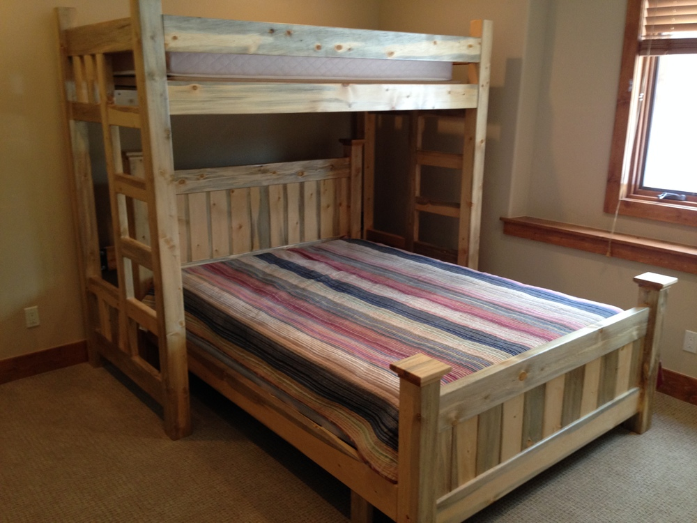 Twin Loft Bed With Queen Cloud City Bed
