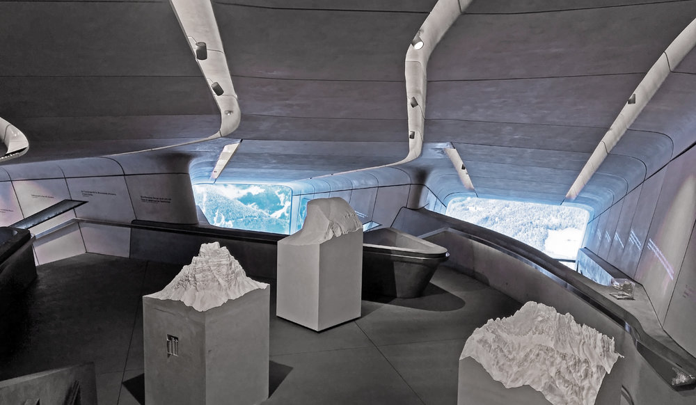 Fig. 3 Messner Museum by Zaha Hadid Architects