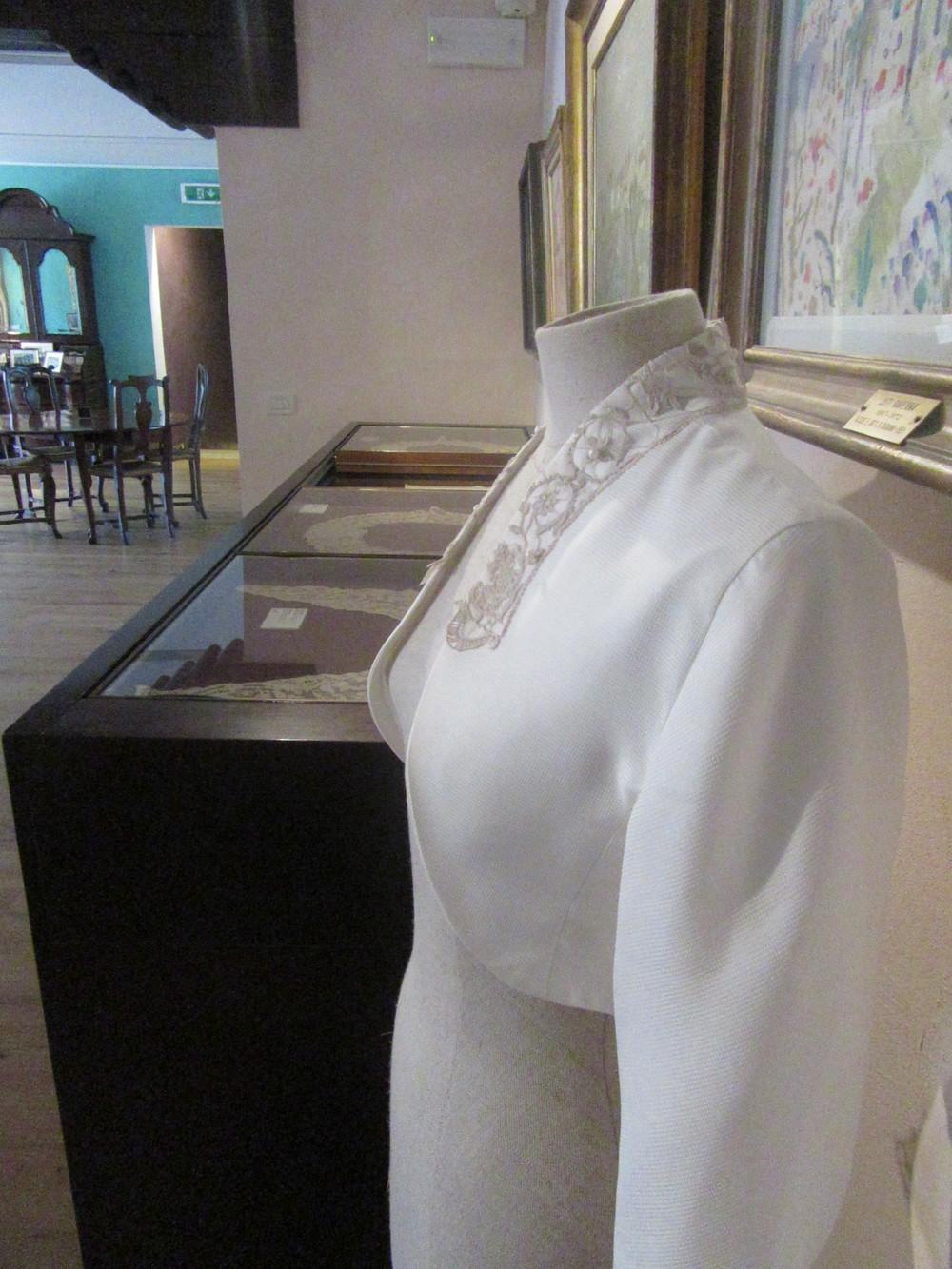 Lace Museum Jaclet detail Burano